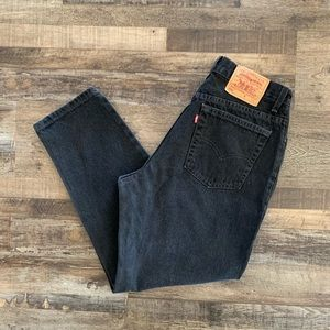 MOM JEANS -LEVI'S 550's Women's SZ 14 HIGH WAISTED